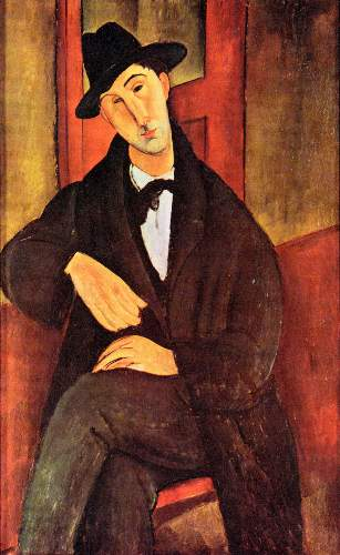 Modigliani - Portrait of Mario Varfogli [2]